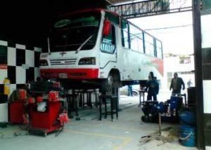 Gatos hidraulicos para bus