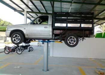 Fabricación de elevadores para vehículos